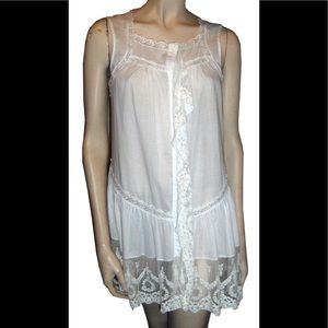 Lacy White Dress or Coverup by Sundance